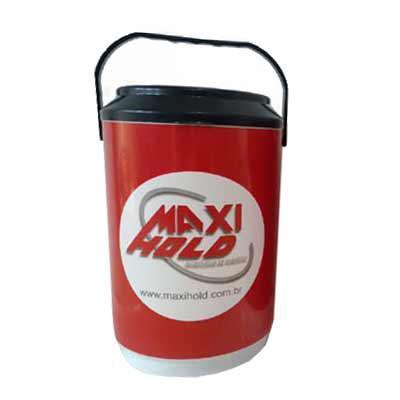 MaxiHold - Produto para acondicionar latas/garrafas ou gelo mantendo a temperatura interna gelada por mais tempo. tamanhos a partir de 06 latas até 24 latas como...
