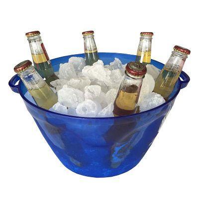 """MaxiHold - Balde de gelo combo multiuso """"Personalização a partir de 100 unids """" em material plastico super resistente em varias cores para bebidas em lata, pet,..."""