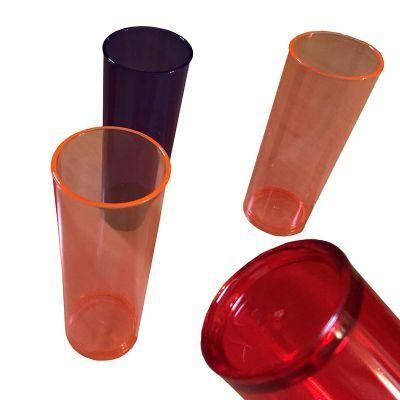 """MaxiHold - Copo long drink. """"Personalização a partir de 500 unids """" Produto elaborado em PS cristal varias cores com capacidade de 300ml e possível aplicação de..."""