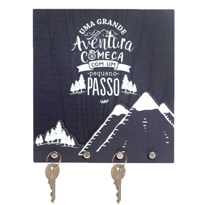 Uatt? Brindes - Porta chaves pop-up - aventura