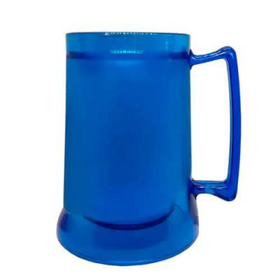 mundo-das-canecas - Caneca de Chopp Gel 400ml em Acrílico Azul