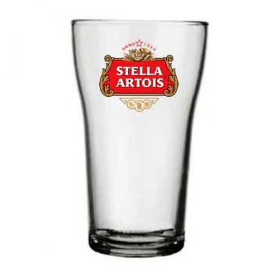 O Mundo das canecas - Copo personalizado de vidro para cerveja Boteco 200 ml com sua logo