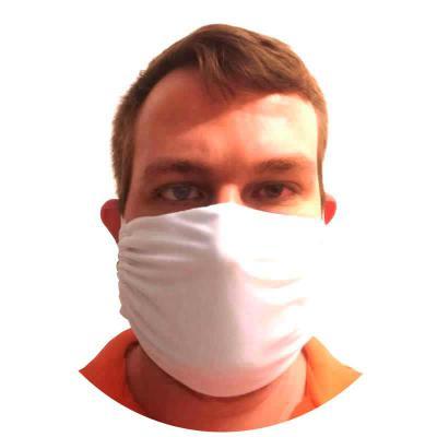 O Mundo das Canecas - Máscara de Tecido Lavável em Malha Poliéster