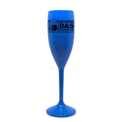 mundo-das-canecas - Taças de acrílico (PS) Cor Azul Cristal 160 ml