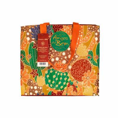Amigos do Bem - Kit Sacola Ecológica Amigos do Bem - Coleção Mandacaru   1 Sacola Ecológica - Coleção Mandacaru Mel  Toda a renda gerada com as vendas dos Kits corpor...