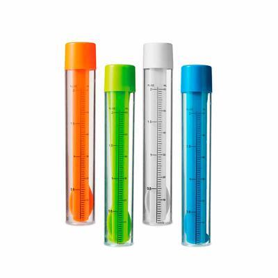 Thap  Brindes - Kit de coquetel. Acompanha: - Dosador/agitador com escala de medição em ml e fl oz  com Capacidade: 60 ml.  - 2 mexedores - 1 pinça para gelo  - 1 col...