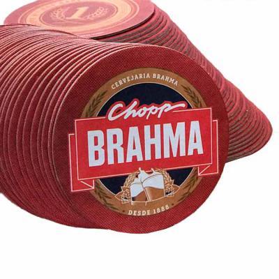 Thap  Brindes - Bolacha de Chope Personalizada. Papel cartão com laminação frente e verso. Material produzido em diversos formatos.