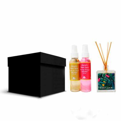 Thap  Brindes - Monte já o seu kit. Aromatizador em Spray, aromatizador para ambientes, velas personalizadas, diversos modelos para deixar o seu ambiente mais agradáv...