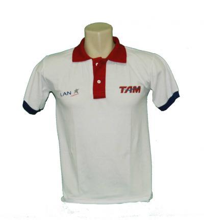 Fit Camisetas - Camisa Polo com gola diferenciada