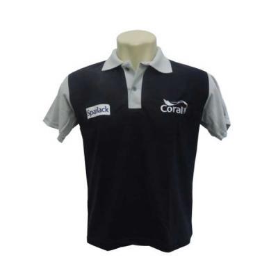 bce7db3fd Fit Camisetas - Camisa Polo Com Recorte