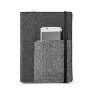 job-promocional - Caderno com capa de tecido