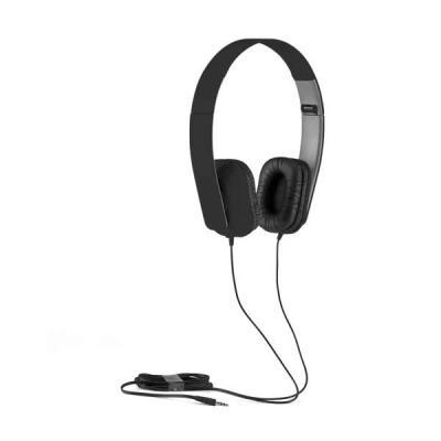 Job Promocional - Fone de ouvido dobrável. ABS. Cabo de 1,45 m com ligação stereo de 3,5 mm. Fornecido em caixa de oferta. Fechado: 100 x 155 x 50 mm | Caixa: 110 x 170...