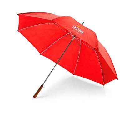 Job Promocional - Guarda-chuva de golfe. Poliéster 190T. Pega em madeira. ø1270 mm   965 mm