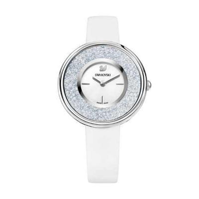 Job Promocional - Relógio Aço inox e couro decorado com cristais