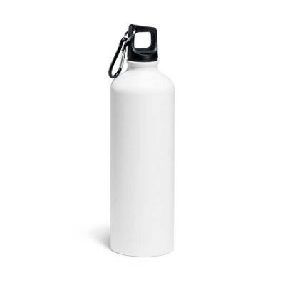 Job Promocional - Garrafa em alumínio 800 ml com mosquetão