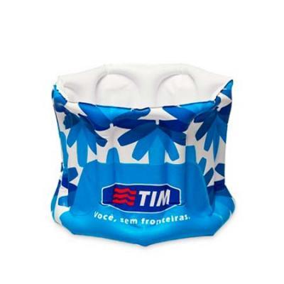 YepUp Presentes Criativos - Balde de gelo inflável personalizado