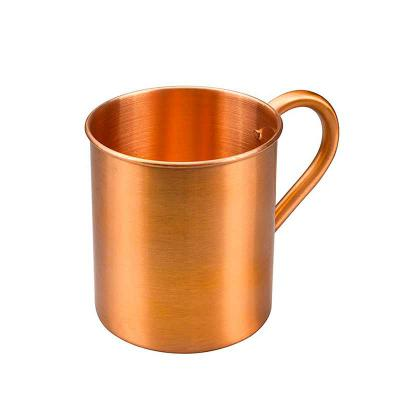 YepUp Presentes Criativos - Caneca de cobre modelo Mule personalizada
