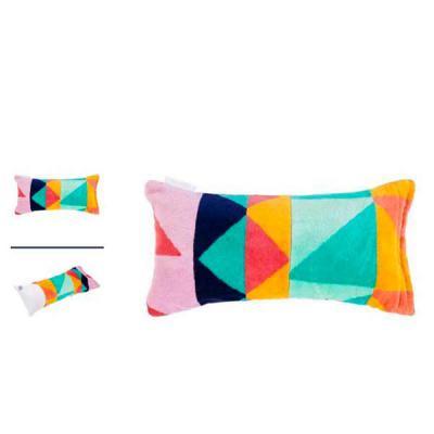 YepUp Presentes Criativos - Kit praia com toalha e almofada personalizada