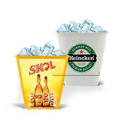 Abra Promocional - Balde de Gelo personalizado