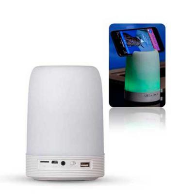 Abra Promocional - Caixa de Som Multimídia com Porta Caneta e Luminária