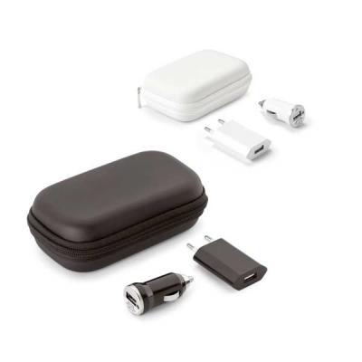 abra-promocional - Kit de carregadores USB