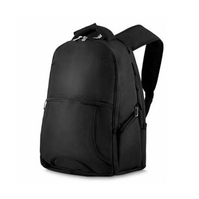 Abra Promocional - Mochila para noteBook - Tecido Nylon :1 bolso frontal,2 bolsos laterais, 2 bolsos interno Porta notebook de neoprene - Porta cartão e canetas - toda...