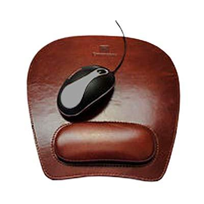 Abra Promocional - Mouse Pad ergonômico couro legítimo ou sintético