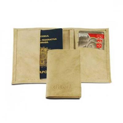 Abra Promocional - Porta passaporte personalizado