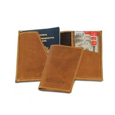 Abra Promocional - Porta-passaporte personalizado