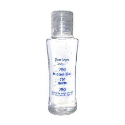 Mexerica Brindes - Alcool gel antisseptico higienizador para as mãos. Embalagens individuais com tampa flip top e valvula pump.
