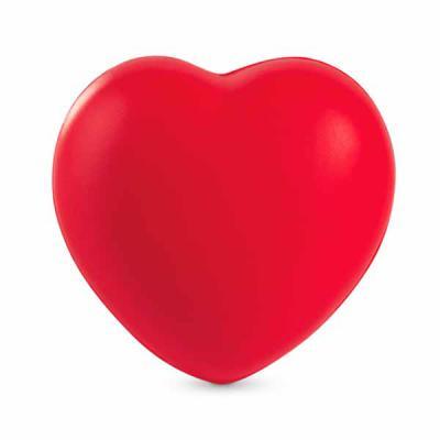 Mexerica Brindes - Bolinha anti-estresse em formato de coração