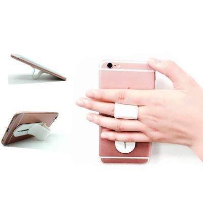 Mexerica Brindes - Apoio retrátil para celular em PVC e ABS, com regulagem de tamanho e adesivo de alta aderência no verso. São vários ajustes para formação da alça para...