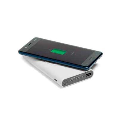 Mexerica Brindes - Bateria wireless emborrachada