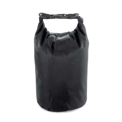 Mexerica Brindes - Sacola impermeável com alça ajustável. Capacidade: 3,5/5 L
