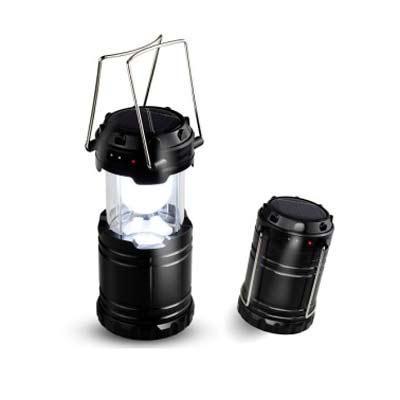Mexerica Brindes - Lanterna recarregável em plástico resistente com relevo na peça e alças de metal. Possui 6 leds com protetor acrílico em volta. Para utilizar lanterna...