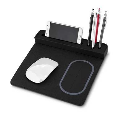 Mexerica Brindes - Mouse pad com carregador por indução