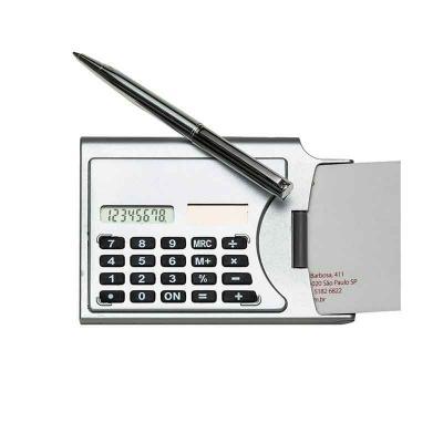 Mexerica Brindes - Calculadora com porta cartão