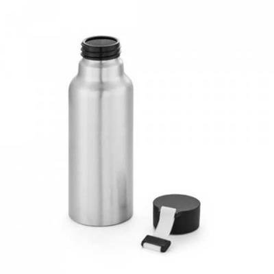 Mexerica Brindes - Squeeze. Alumínio. Com fita em silicone. Capacidade: 570 ml. Food grade.