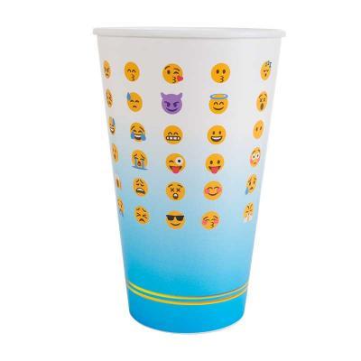 GiftWay - Copo promocional injetado em polipropileno com decoração em In Mold Label com capacidade de 550ml