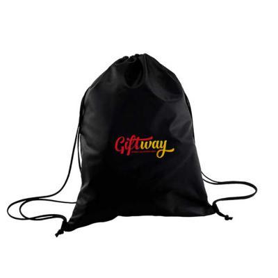 GiftWay - Mochila saco em nylon 70 decorado em serigrafia.
