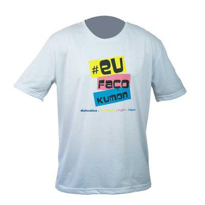SP Uniformes - Camiseta gola redonda, malha pv (67% poliéster e 33% viscose)
