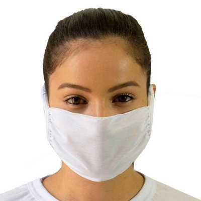SP Uniformes - Máscara Facial Lavável Com Elástico
