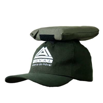 SP Uniformes - Boné em brim com silk, com espuma para carregamento de produtos.