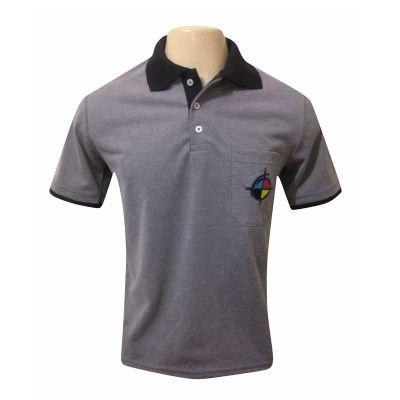 SP Uniformes - Camiseta com gola polo
