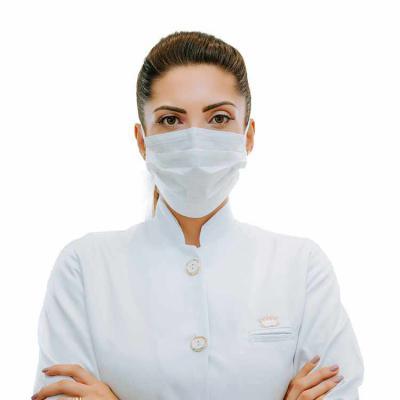 SP Uniformes - Máscara Facial Lavável Com Elástico - FOTO FRENTE