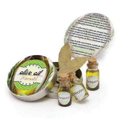 Wersatil - Frascos com azeite e ervas arom�ticas. Frascos de azeite com ervas arom�ticas, excelente brinde para conven��es, festas e boas vindas!