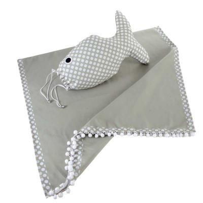 Wersatil - Canga  Material poliéster  Formato retangular ou redondo Mochila Peixe Material poliéster Impressão digital