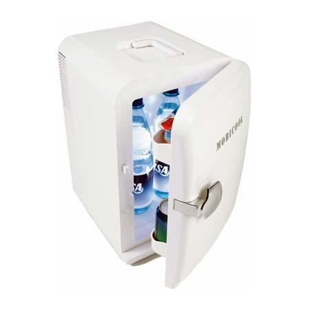 A & T Brindes - Mini Geladeira 110V. Capacidade de Refrigeração com Mínima de 5° C. Função Aquecimento até 65° C. Capacidade Interna Equivalente á 06 Latas de 350 ML....