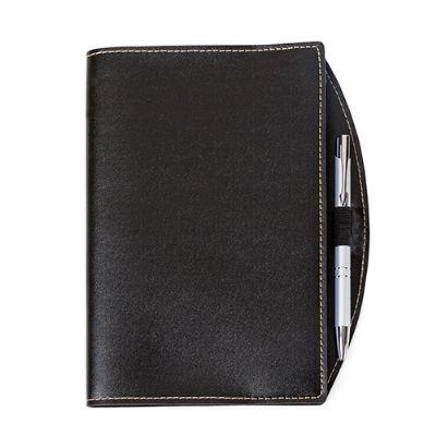 J.E Brindes - Bloco de anotações Bidins com caneta personalizado