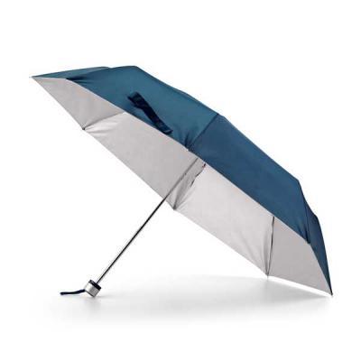j-e-brindes - Guarda-chuva dobrável. Poliéster 190T. Dobrável em 3 seções. Fornecido em bolsa. ø960 mm | 240 mm | Bolsa: ø40 x 225 mm